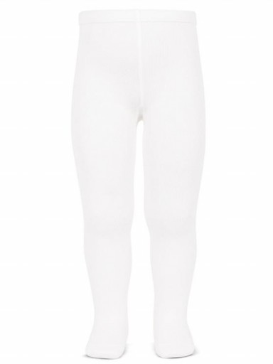 Leotardos Cóndor Punto Liso Blanco 200L [0]