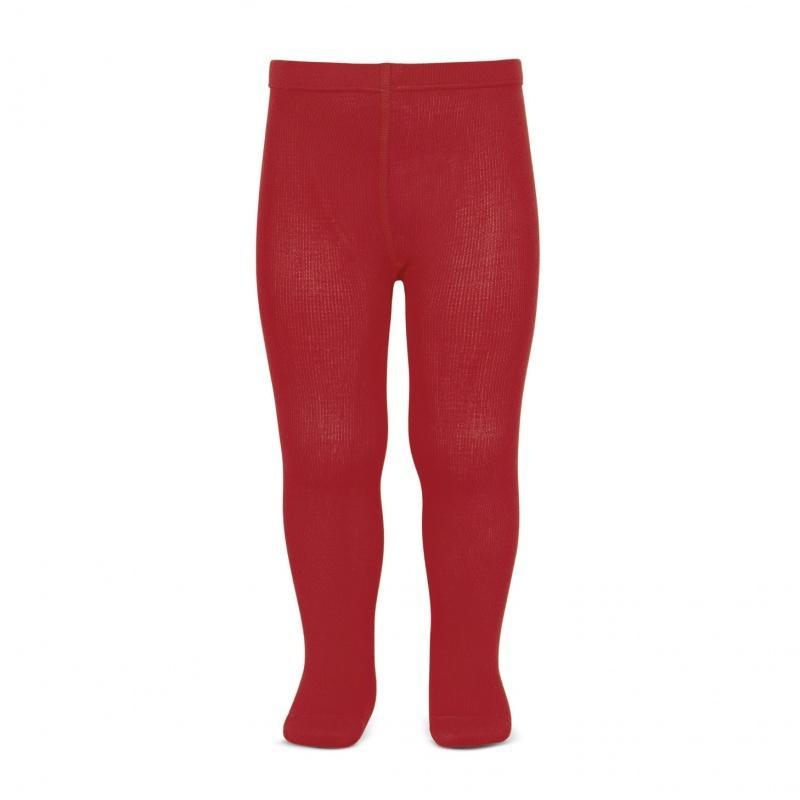 Leotardos Cóndor Punto Liso Rojo 550L