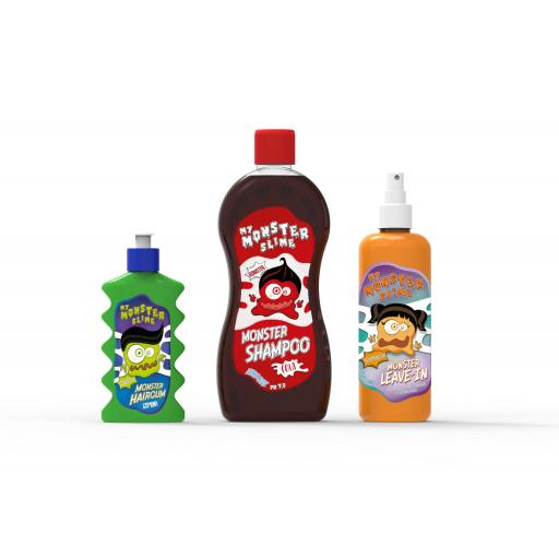 CHAMPU MONSTER COLA con proteinas vegetales 500ML. [1]