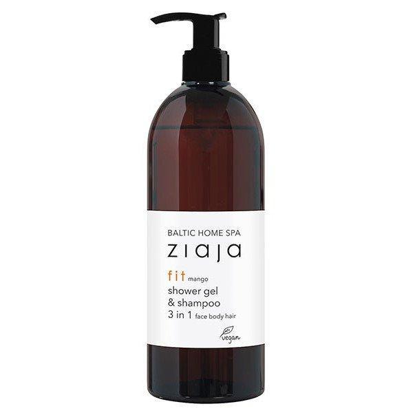 BALTIC HOME SPA fit gel de ducha y champú para rostro, cuerpo y cabello 3 en 1