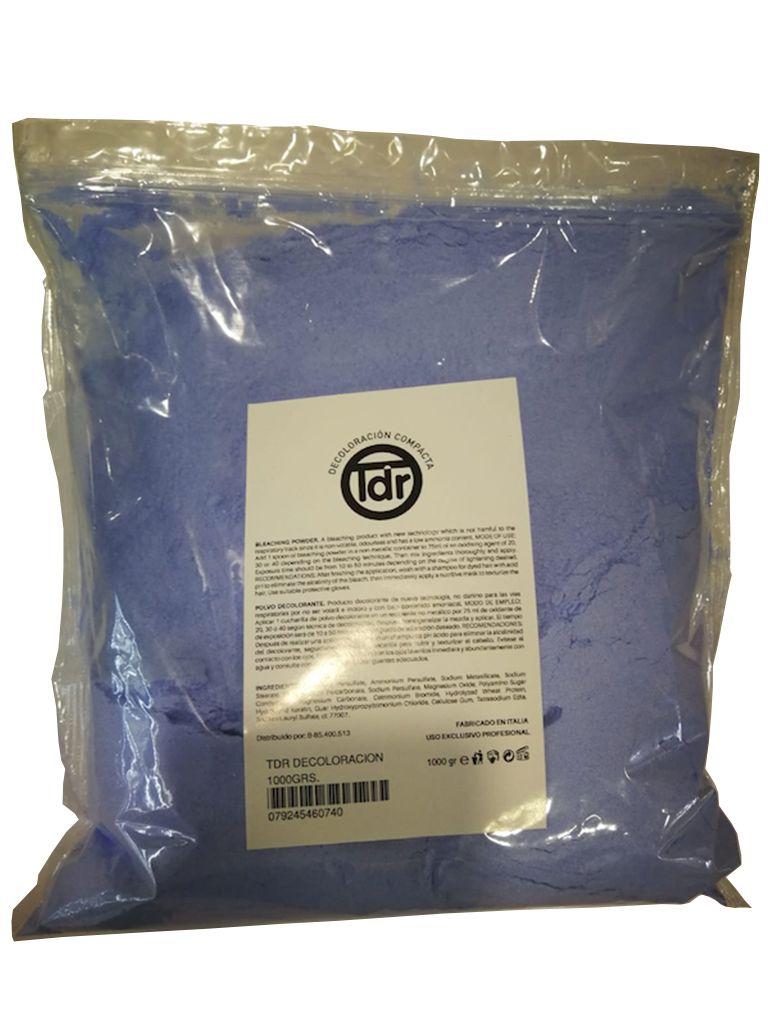 Decoloracion en polvo Azul 1000grs.  TDR
