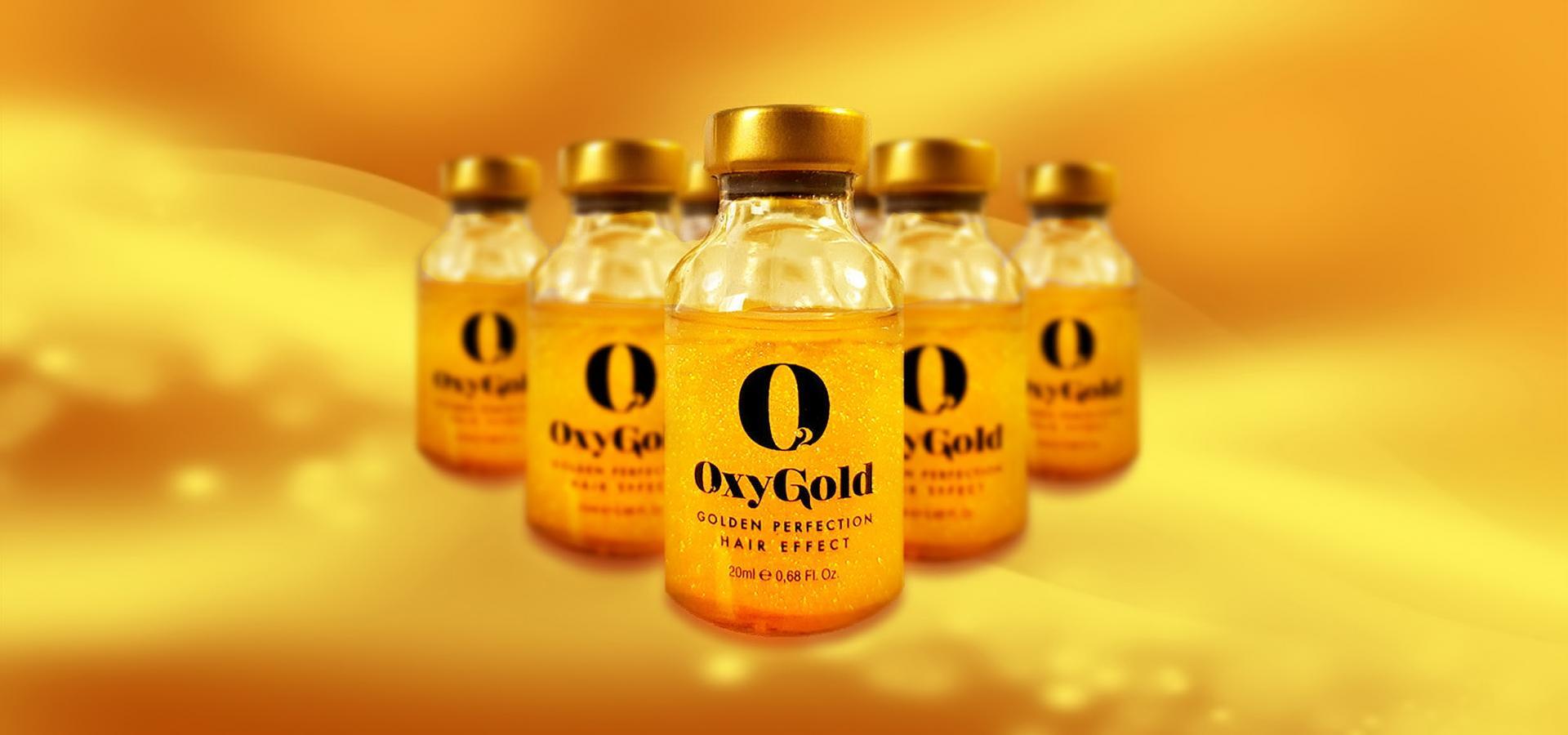 OXYGOLD  tratamiento capilar  A BASE DE ORO