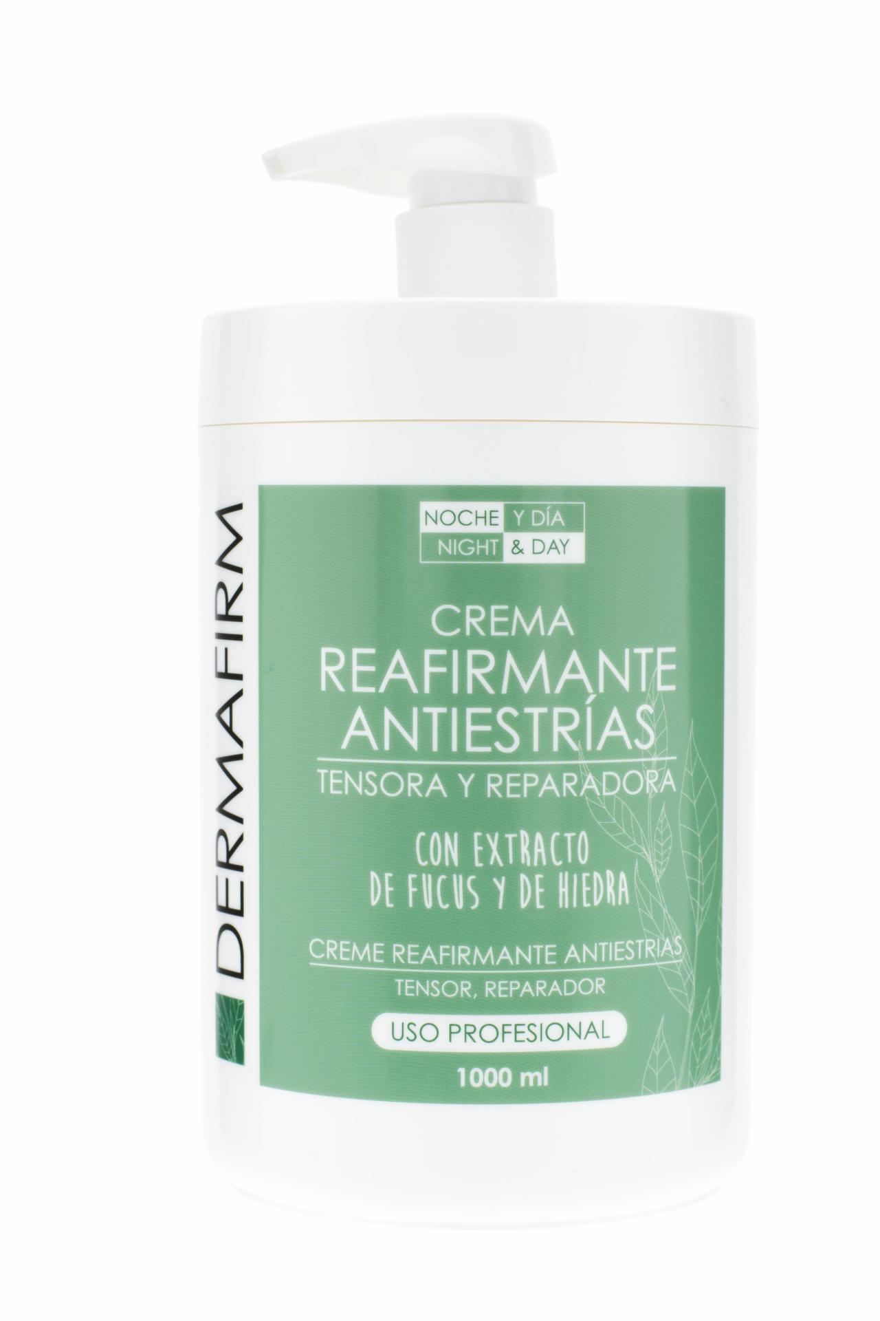 Crema REAFIRMANTE y ANTIESTRIAS  NOche y DIa 1000ml.