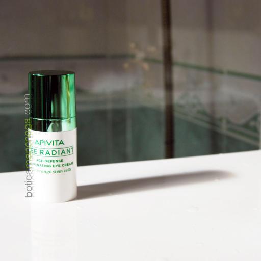 Apivita Bee Radiant Defensa Antiedad Crema Iluminadora Contorno de Ojos, 15 ml + REGALO: Facial Apivita a Elegir, 2 ml [1]
