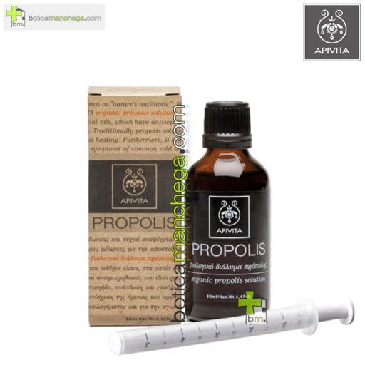 Propolis Solución Orgánica de Propóleo Apivita, 50 ml