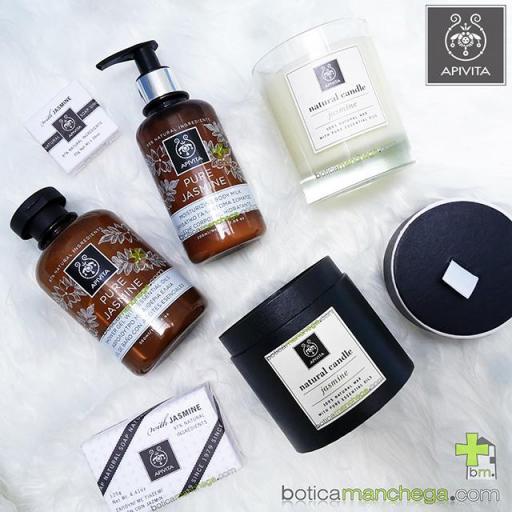 Apivita Jabón Natural con Jazmín- Natural Soap Jasmine, 125g [1]