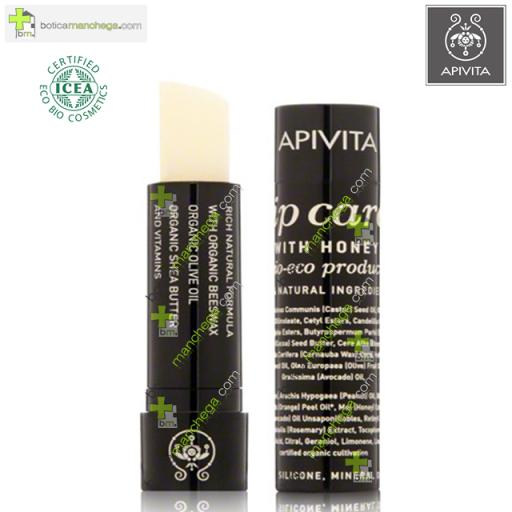 Apivita Lip Care BIO- ECO Bálsamo Cuidado Labial con Miel
