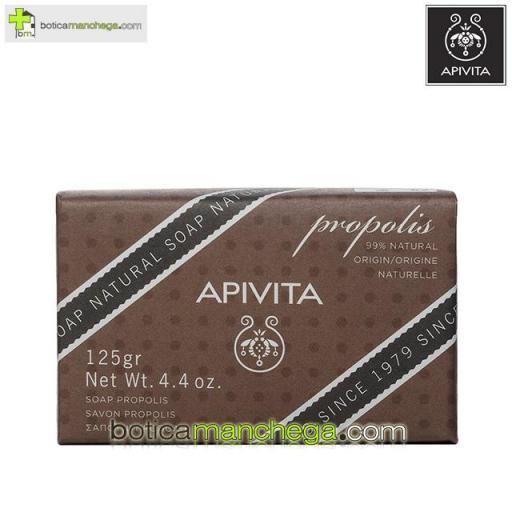 Jabón Natural Propóleo - Apivita Natural Soap Propolis, 125g