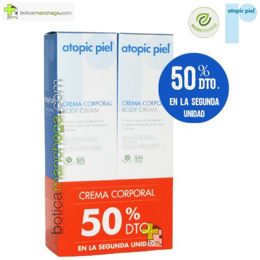 Atopic Piel Eco Crema Corporal 50% en la segunda unidad, 2 x 150 ml