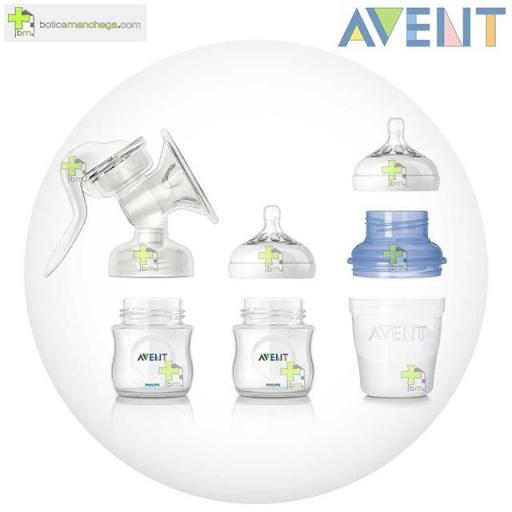 Philips AVENT Set de Recipientes de Almacenamiento para Leche Materna, 10 uds + 2 adaptadores [1]
