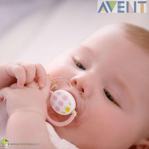 Pack 2 Chupetes 0-6M Philips AVENT Classic Deco Tetina Silicona [1]
