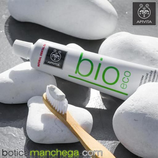 Bio-Eco Dentífrico Protección Natural Crema Dental con Hinojo y Propóleo Apivita, 75 ml [1]
