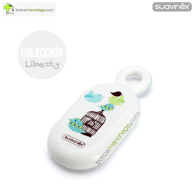 Termómetro Burbujas Baño +0M Suavinex Blanco Colección Liberty