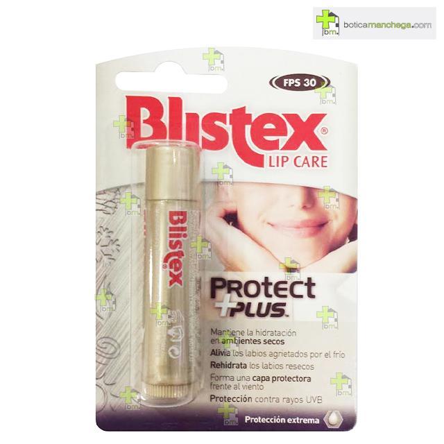 Protect Plus SPF30 Bálsamo Labial Blistex máxima protección en ambientes extremos