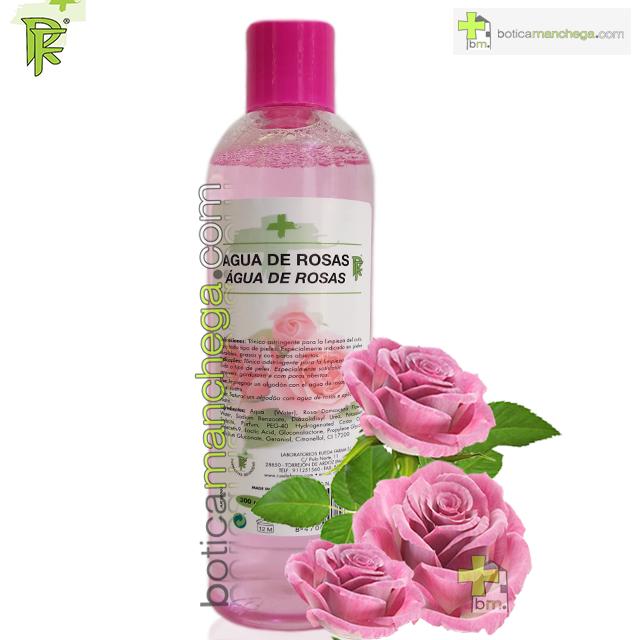 Agua de Rosas Tónico Astringente Rueda Farma, 300 ml