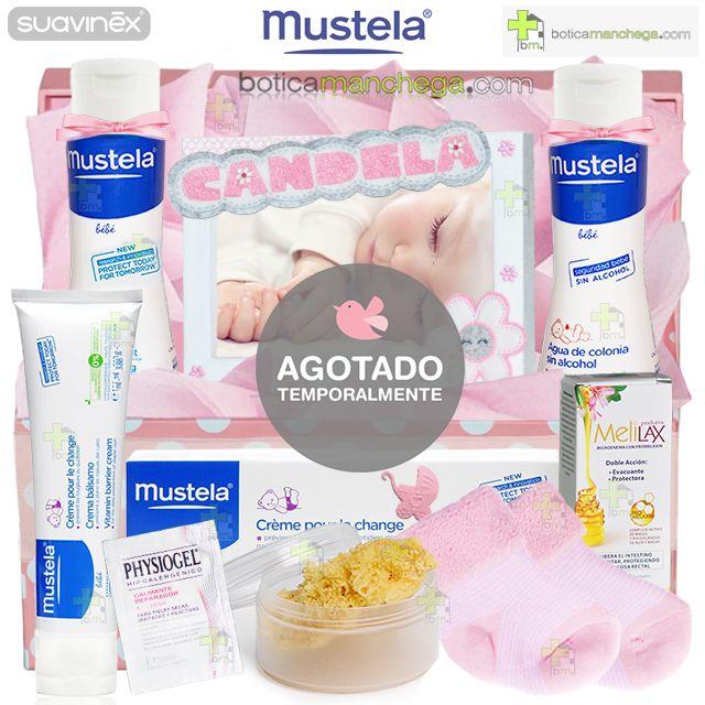 Canastilla Regalo BabyGirl Sweet Box Personalizada Mustela by BoticaManchega