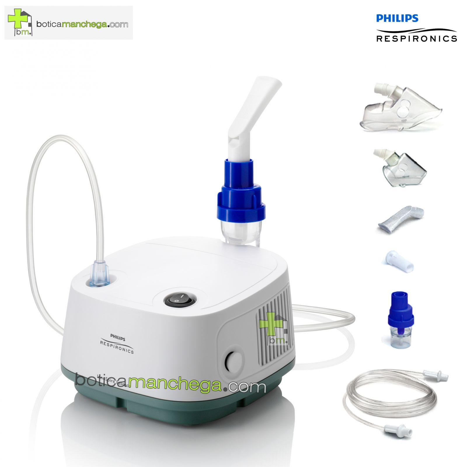 Nebulizador Philips Respironics InnoSpire Essence Sistema de Administración de fármacos inhalatorios en aerosol