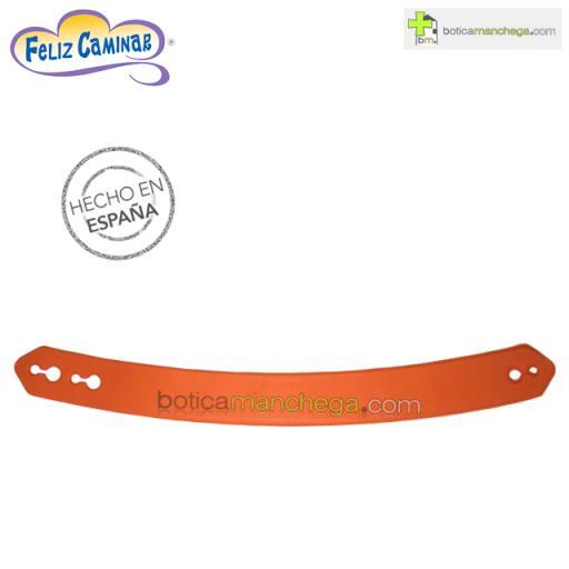 Tira Naranja para Zuecos Técnicos Feliz Caminar, 1 unidad