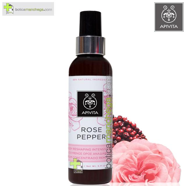 Rose Pepper Serum Corporal Concentrado Remodelador Apivita, 150ml