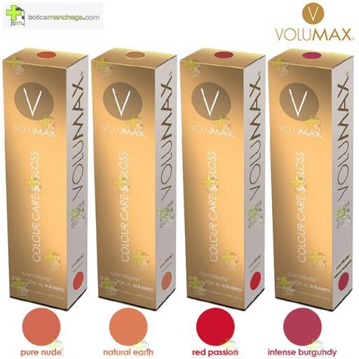 VOLUMAX Colour Care & Gloss. Bálsamo color, cuidado y brillo labial, 15 ml [1]