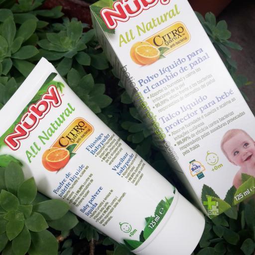 Polvo Líquido en Crema para bebés Nûby Citroganix™ +0M, 125 ml [1]