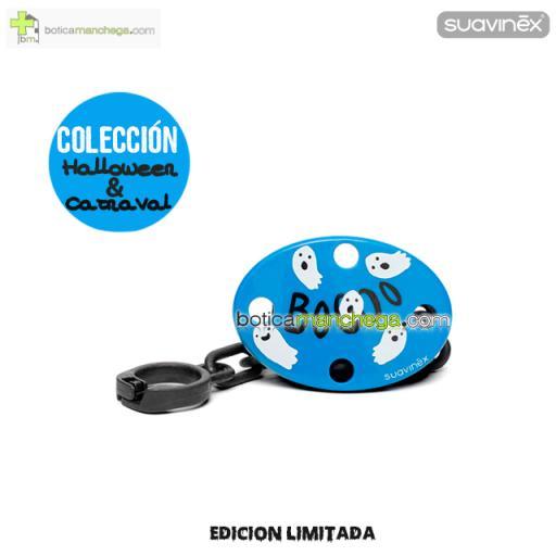 Broche Ovalado Fantasmas Azul Colección DISFRACES/CARNAVAL/HALLOWEEN Suavinex