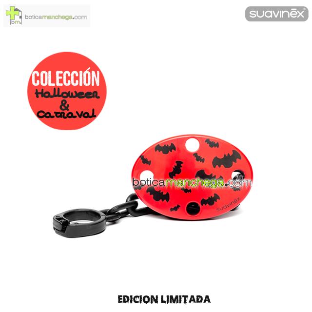 Broche Ovalado Rojo Vampiros DISFRACES/CARNAVAL/HALLOWEEN Suavinex