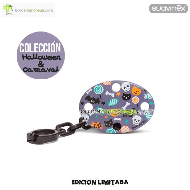 Broche Ovalado Lila Caramelos Colección DISFRACES/CARNAVAL/HALLOWEEN Suavinex