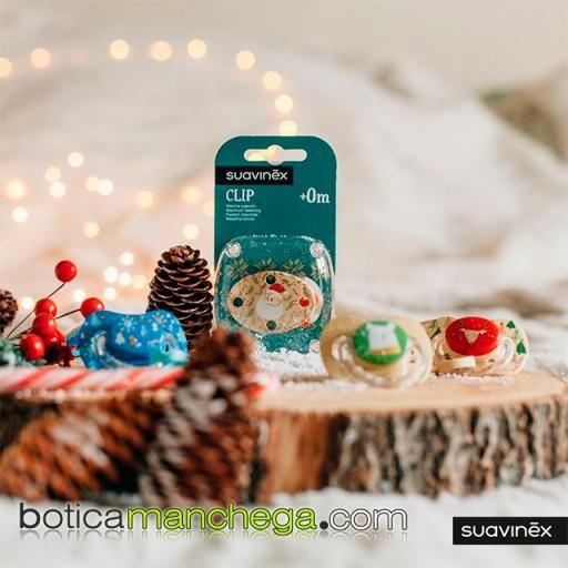 Broche Ovalado Modelo Papá Noel Colección WINTER/NAVIDAD Suavinex +0M [1]