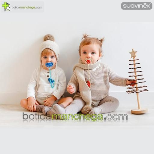 Broche Ovalado Navidad Azul Colección WINTER/NAVIDAD Suavinex +0M [2]
