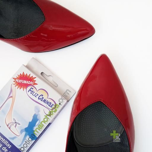 Miniplantillas Transparentes Gel Feliz Caminar Talla Única, 1 Par [1]