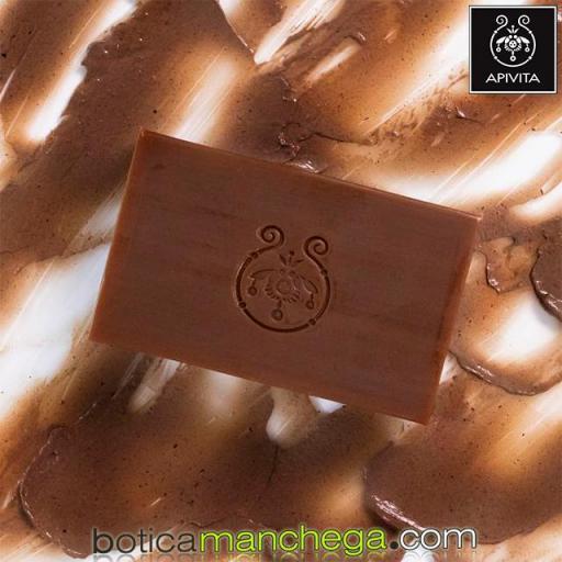 Jabón Natural Propóleo - Apivita Natural Soap Propolis, 125g [1]