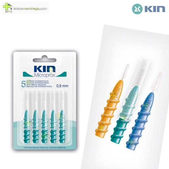 Kin Microprox 0,9 mm Cepillos Interdentales, 5 uds.