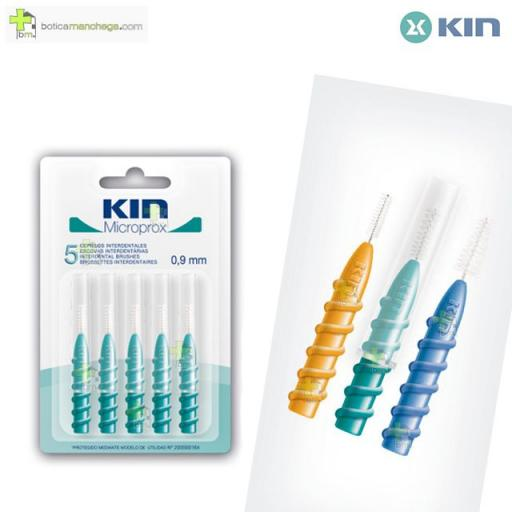 Kin Microprox 0,9 mm Cepillos Interdentales, 5 uds.