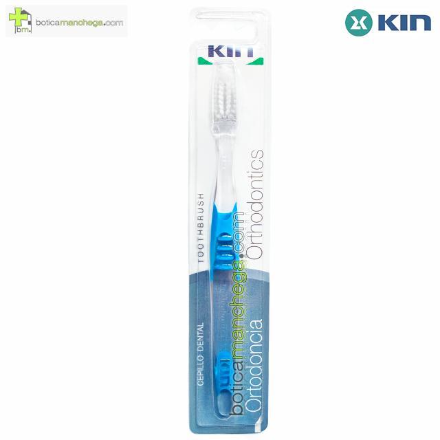 Cepillo Dental Kin Ortodoncia Color Azul