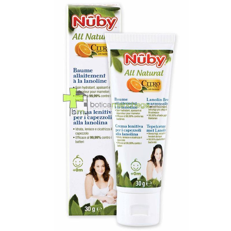 Bálsamo para Lactancia Nûby Citroganix™ +0M, 30 g