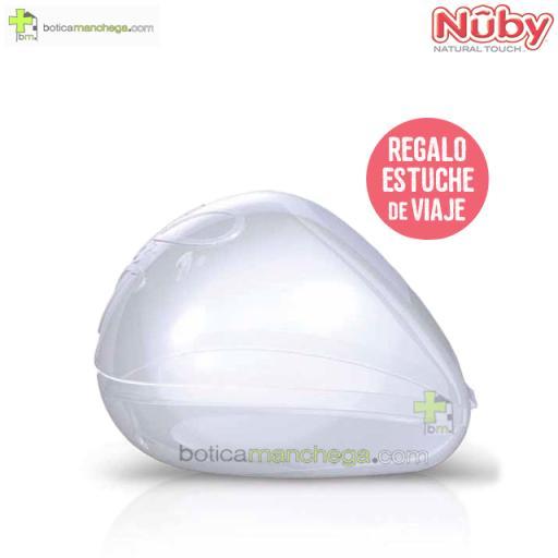 Chupete Ortodóntico 0-2M Nûby Natural Touch™ + REGALO: Estuche Viaje [1]
