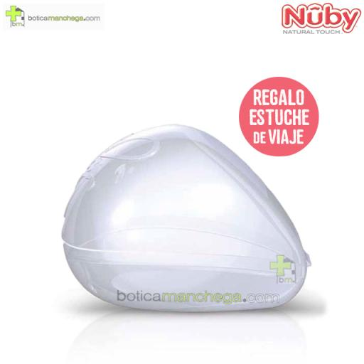 Chupete Ortodóntico 0-6M Nûby Natural Touch™ + REGALO: Estuche Viaje [1]