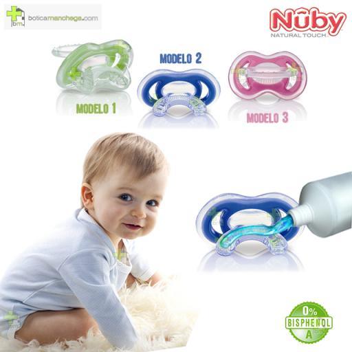 Primer Mordedor Gum-eez™ Nûby Natural Touch™ +0M [1]