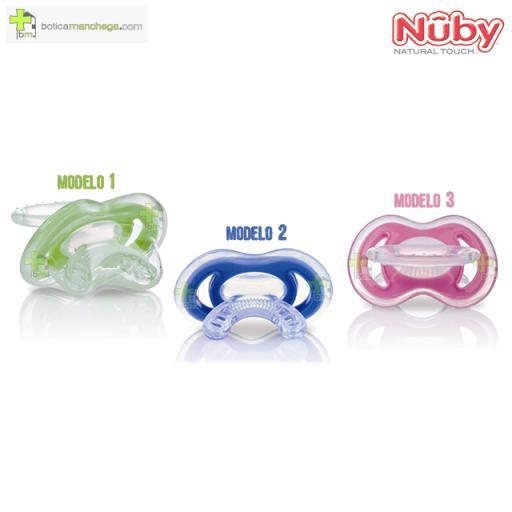 Primer Mordedor Gum-eez™ Nûby Natural Touch™ +0M