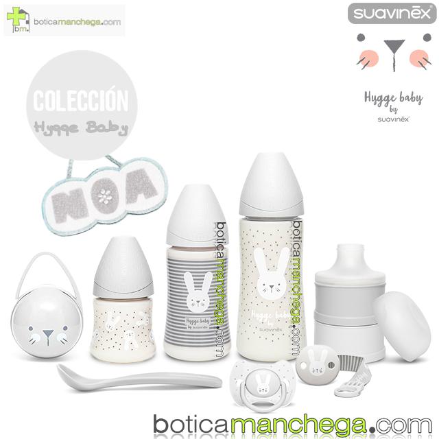 Welcome Baby Set Personalizado Premium Suavinex Colección Hygge Baby Gris / Blanco