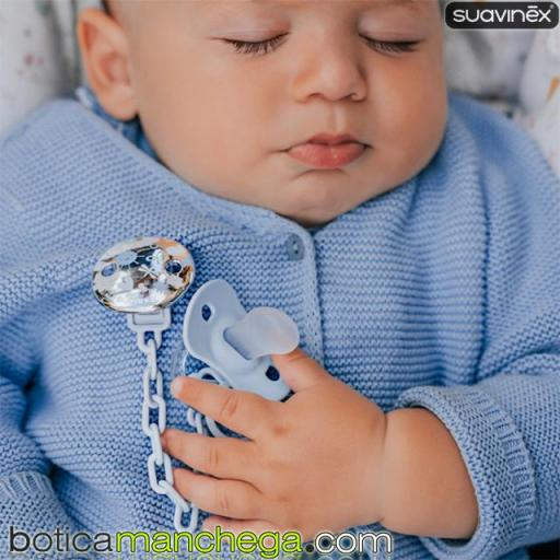 Broche Pinza The New Classic Jewel Suavinex Modelo Memories Azul, +0M [1]