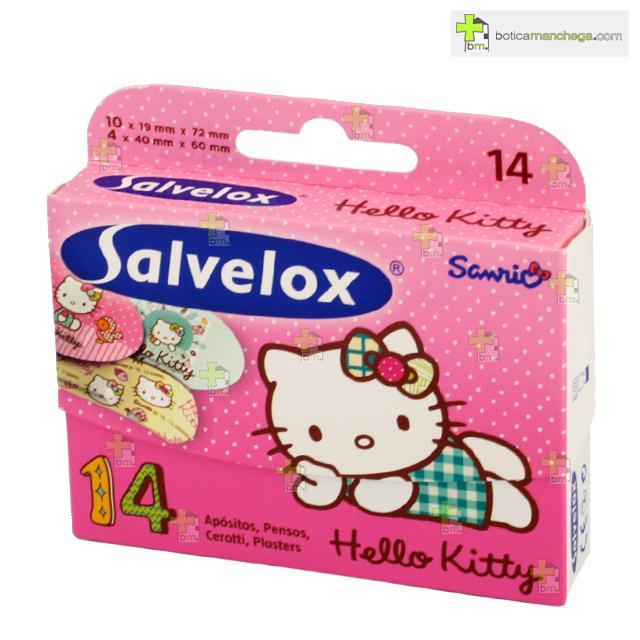 Salvelox Hello Kitty 14 Apósitos Infantiles Surtidos