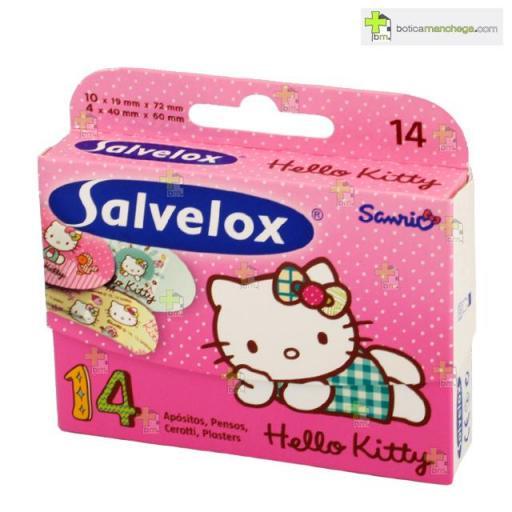 Salvelox Hello Kitty 14 Apósitos Infantiles Surtidos [0]