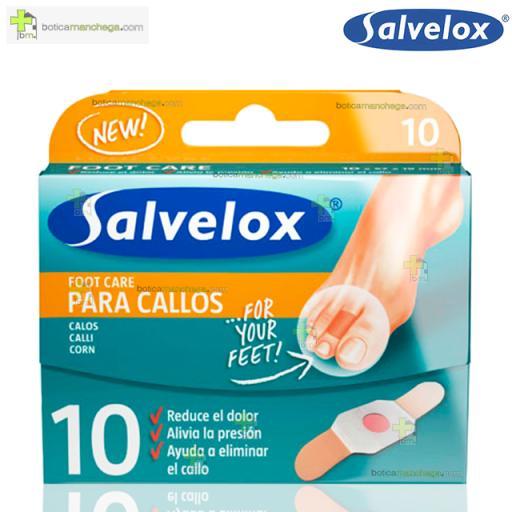 Salvelox Callos Apósito Callicida Foot Care, 10 uds. [0]