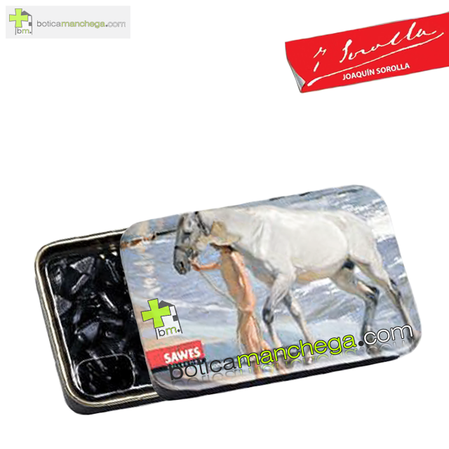 "Colección Sorolla Sawes Regaliz Sin Azúcar. Modelo: ""El baño del caballo"", Art Collection"