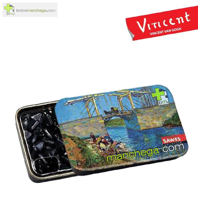 "Sawes Regaliz Sin Azúcar Colección Van Gogh. Modelo: ""Le pont de Langlois à Arles"", Art Collection"