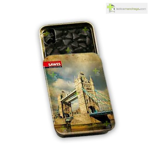 Sawes Regaliz Sin Azúcar Colección City, London Tower Bridge