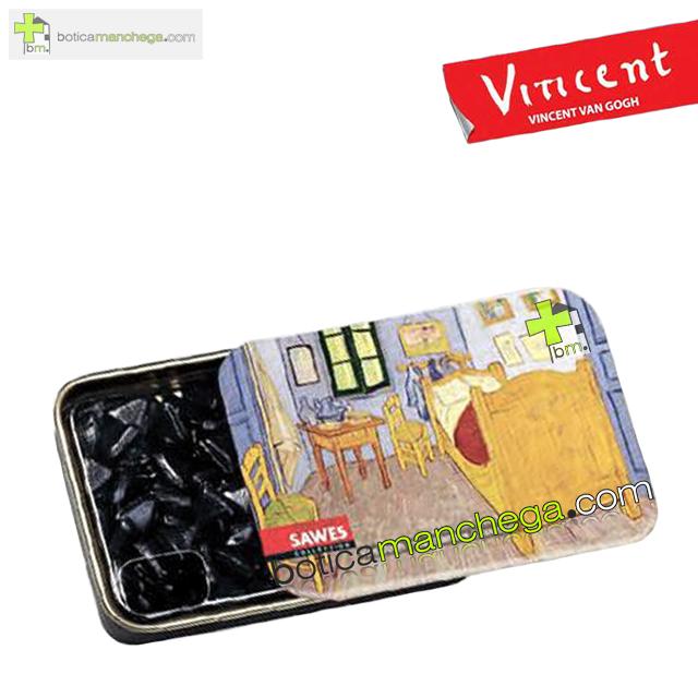 "Sawes Regaliz Sin Azúcar Colección Van Gogh. Modelo: ""La chambre à coucher"", Art Collection"