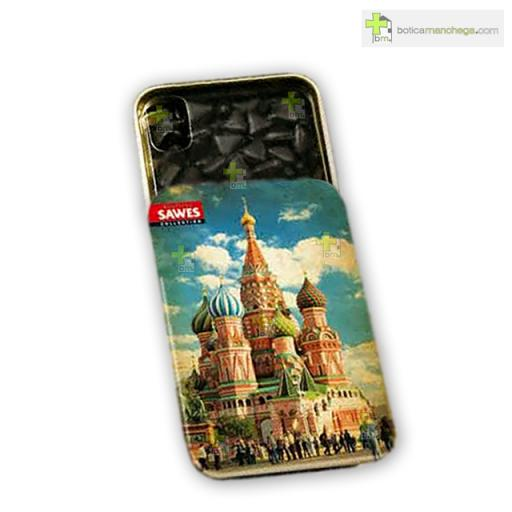 Sawes Regaliz Sin Azúcar Colección City, St. Basil´s Cathedral Moscú [0]